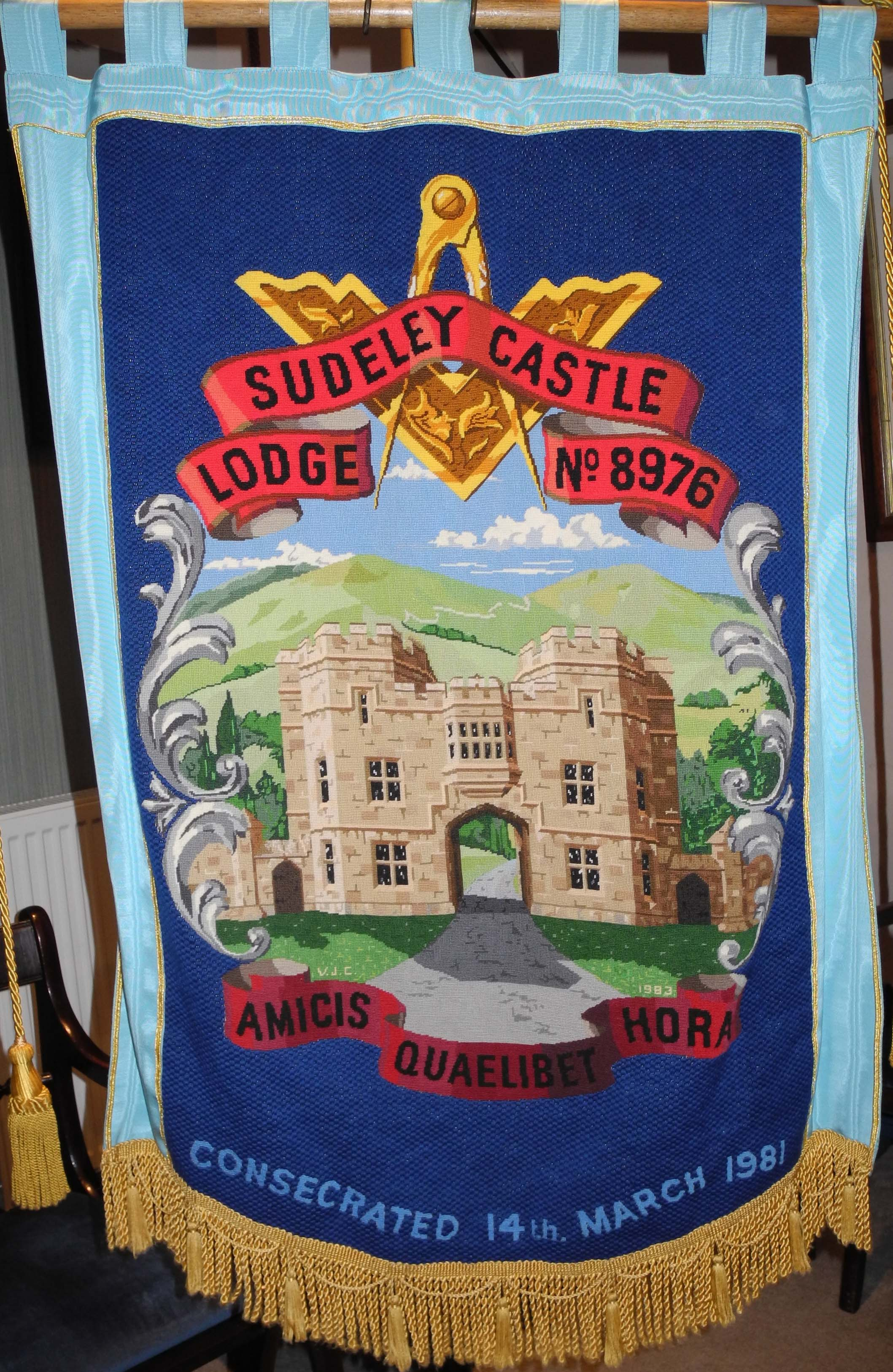 Sudeley Castle Lodge Banner